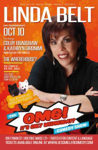 """Jess Miller Comedy Shows proudly presents The """"OMG! It's Only Wednesday?"""" Comedy Show"""