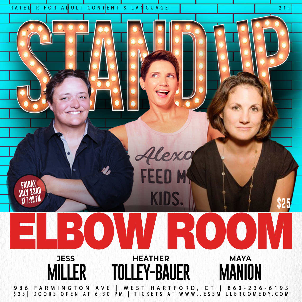 Comedy at The Elbow Room